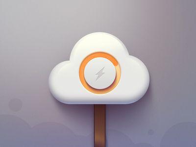 Cloud Icon #illustration #design #inspiration