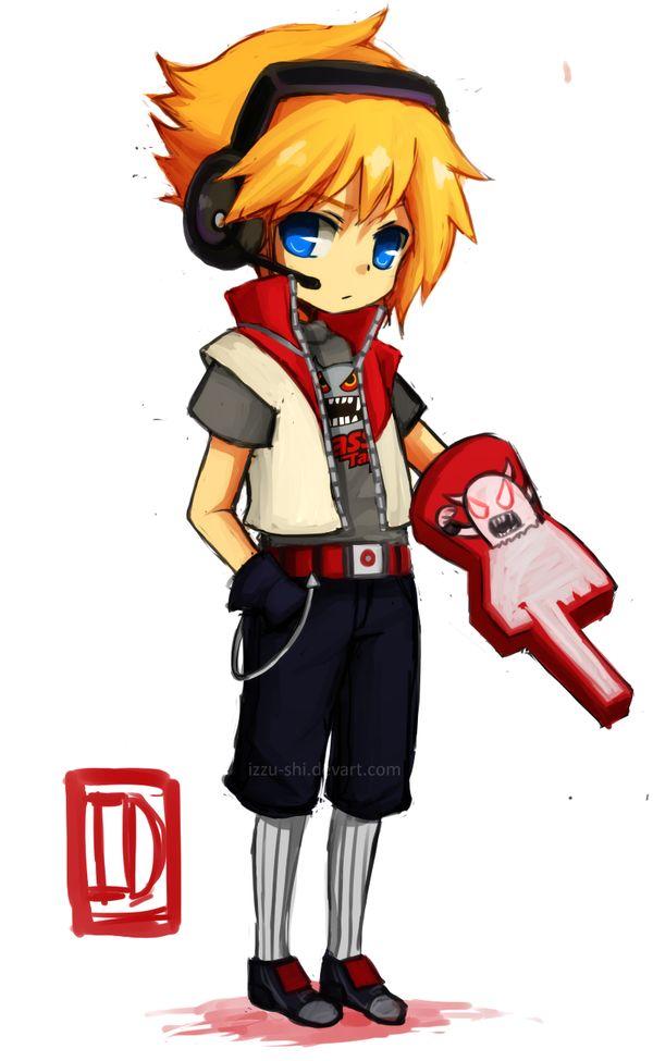 LoL: Chibi TPA Ezreal by Izzu-shi.deviantart.com on @deviantART