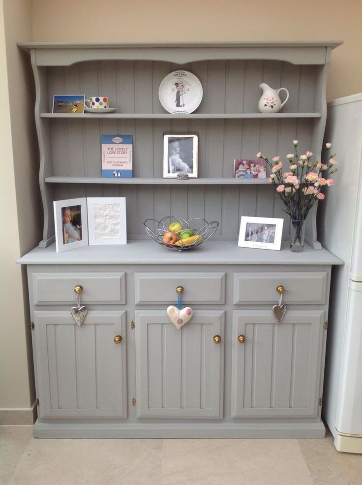 I have been lusting after a Welsh dresser forever! Bah! Annie Sloan Painted Welsh Dresser