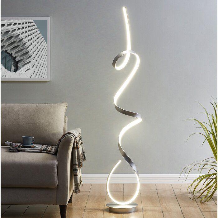Clarkedale 63 Led Novelty Floor Lamp Novelty Floor Lamp Led
