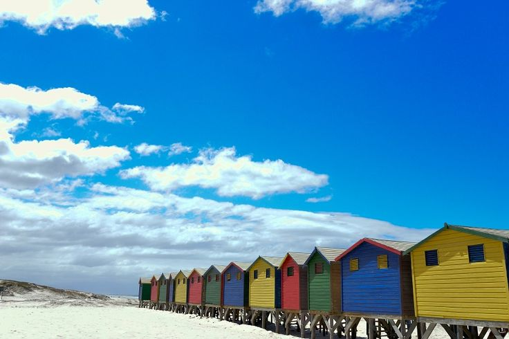 Muizenberg beach, Cape Town. Photo cred: Liza de Villiers.
