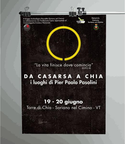 I Luoghi di Pier Paolo Pasolini - manifesto