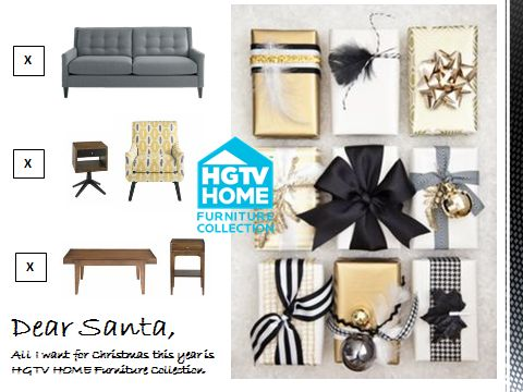 Dear Santa, All I Want For Christmas This Year Is HGTV HOME Furniture  Collection Http