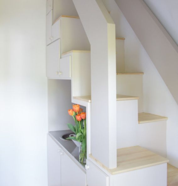 7 Super Functional Ideas How To Use The Space Under The Stairs | My Home Design