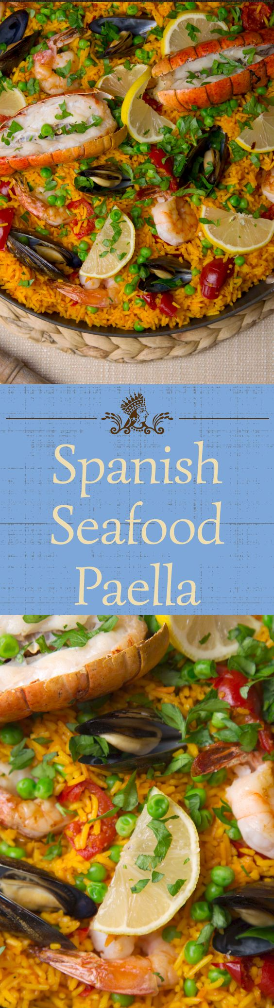 Seafood paella is a show-stopping rice dish from Spain. Impress your guests with an epic Royal Basmati Rice paella they will never forget!