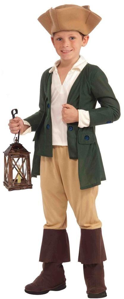paul revere boys costume - Halloween Children Costumes