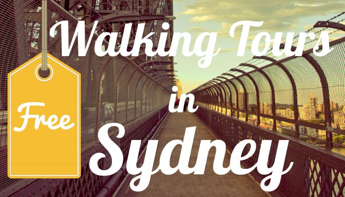 Not everything is expensive in Sydney. In fact, there are loads, tons, heaps of free things to do in Sydney including several walking tours in Sydney.