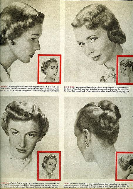 1950 hair styles | Flickr - Photo Sharing!