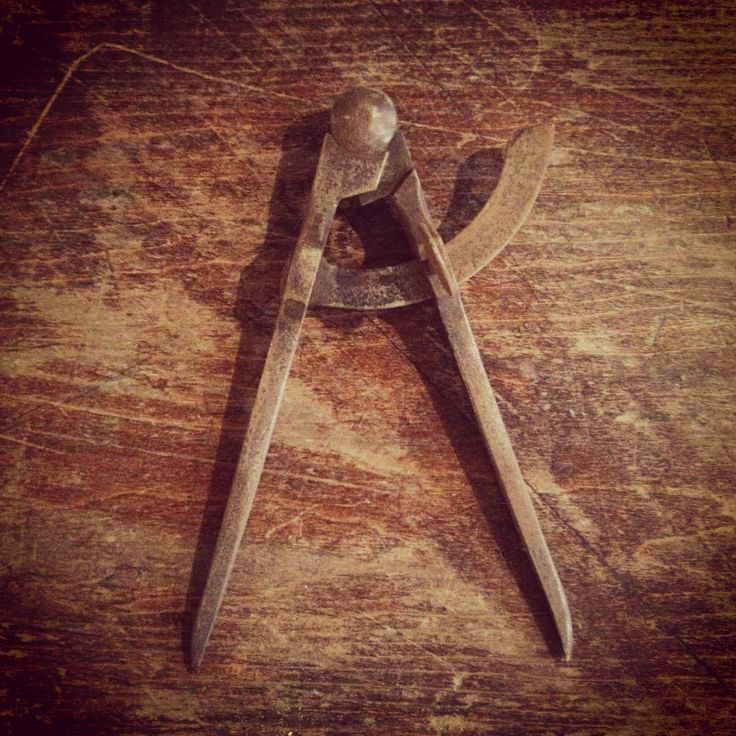 Letter A #tools #rustica #object