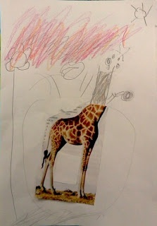 Expand the picture art...awesome idea for preschool/elementary age children!