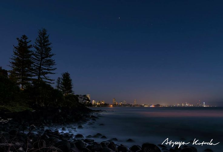 Goodnight Burleigh ~ Photo by Atsuya Kotoda Photography