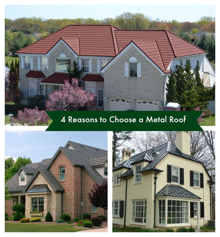 Four Reasons to Choose a Metal Roof