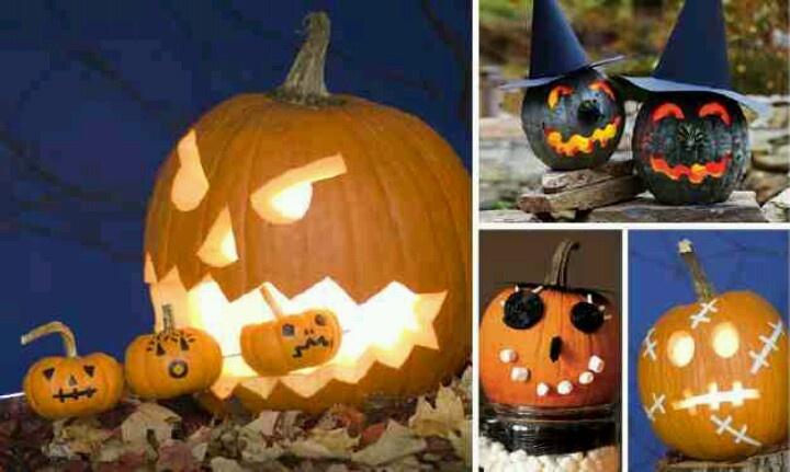 11 Pumpkin Carving Ideas Halloween Pinterest