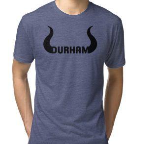 Tri-blend T-Shirt #durham, #durham bulls, #buy local, #dirty durham, #nc, #north carolina, #t-shirts