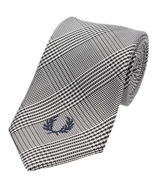 FRED PERRY(フレッドペリー)のSilk Tie(ネクタイ)|グレー