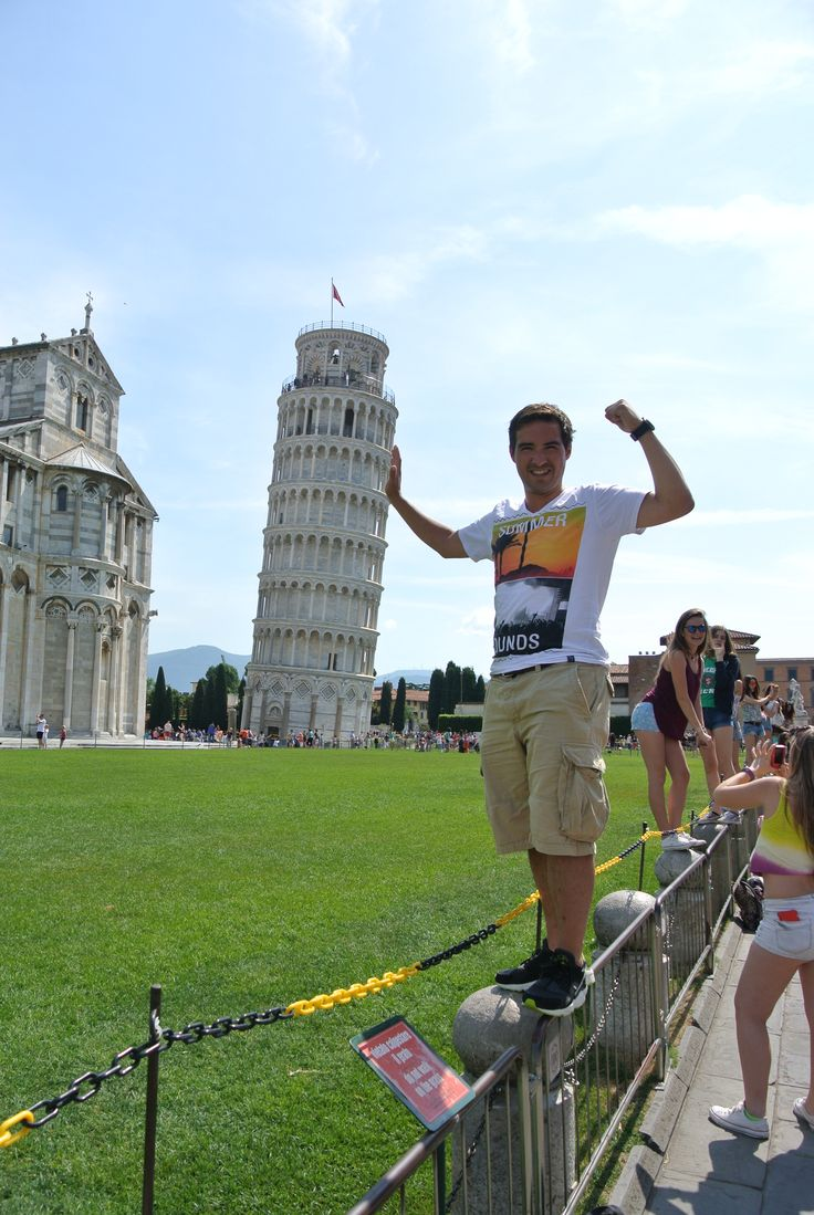 check! supporting the Tower of Pisa