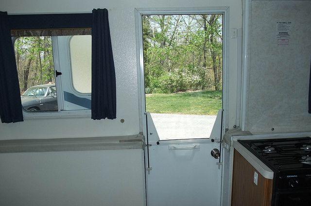 Trailmanor Screen Door Inside Closed Flickr Photo