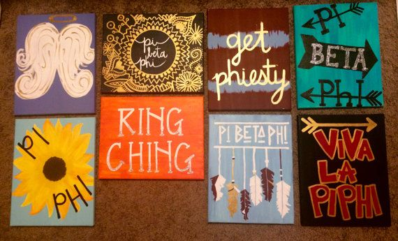 CUSTOM SORORITY CANVAS
