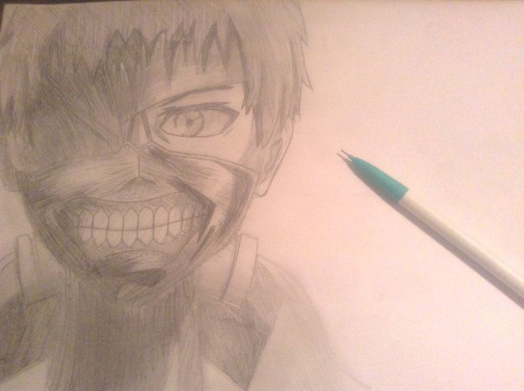 Kaneki Ken from an epic anime called Tokyo Ghoul