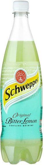 BEWARE SHIPPING COSTS OF 27-28%   !!!!!!@**********!!@@@  Schweppes Bitter Lemon 1 Ltr