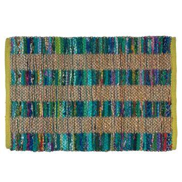 alfombra jute color para casaideas