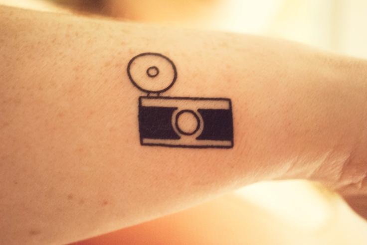 My new camera tattoo