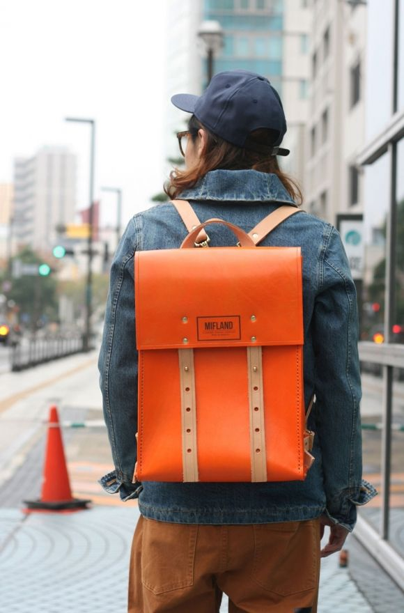 Leather Rucksacks by Mifland