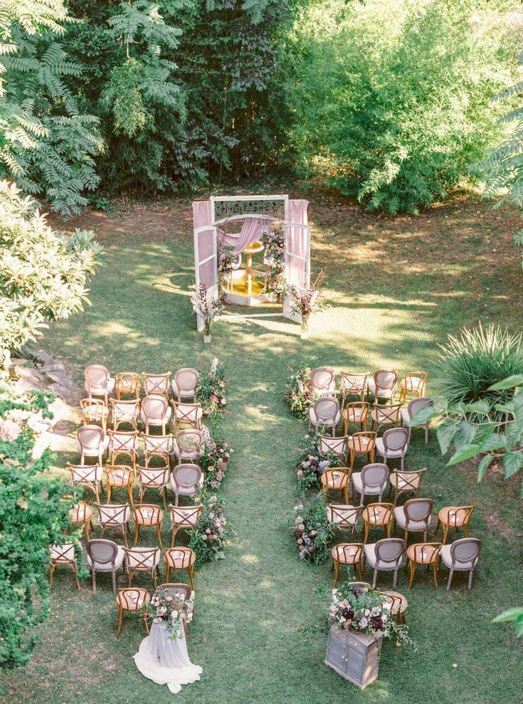 An Intimate Wedding At Barcelona S Villa Catalina Alfresco Wedding Small Weddings Ceremony Outdoor Wedding