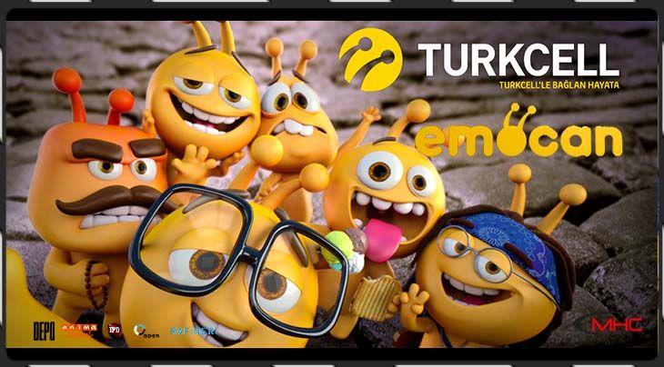 Turkcell'in Yeni Reklam Yüzleri Emocanlar