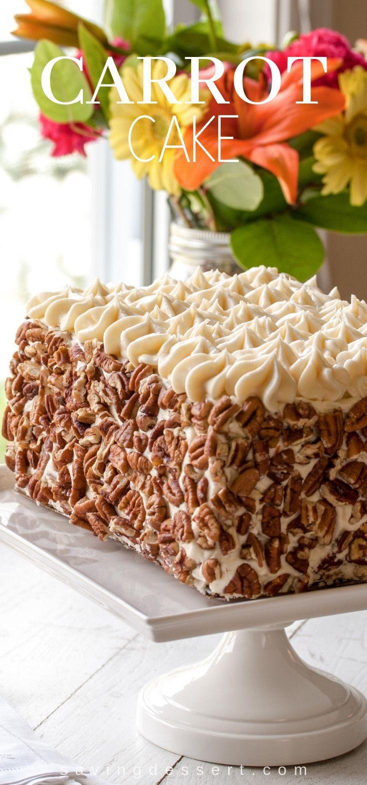 Carrot Cake Recipe Layer Cake Filling Carrot Cake Savoury Cake