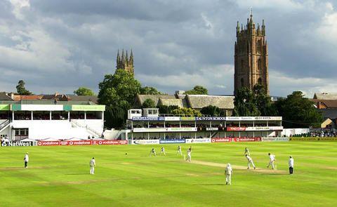 The County Ground, Taunton, England.