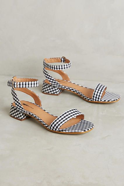Like the style of these but not necessarily the pattern. Would be good in a solid color, or two-tone.