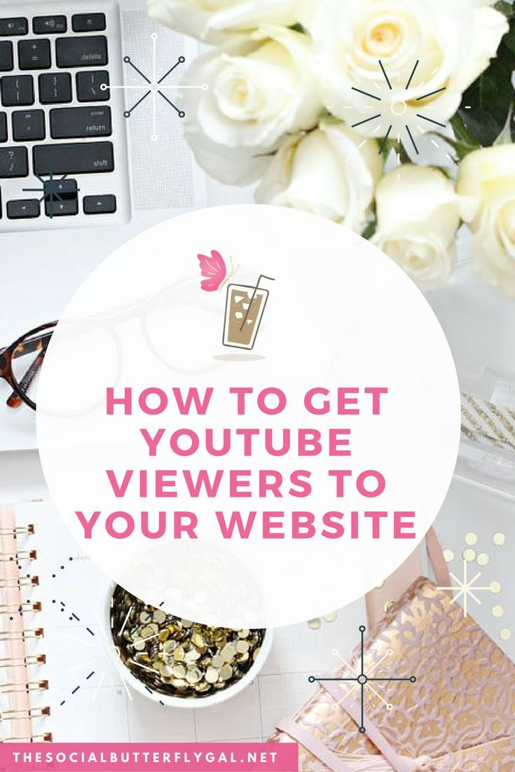 How To Get YouTube Viewers to Your Websitehttp://www.thesocialbutterflygal.net/2017/01/get-youtube-viewers-website/ #SocialMedia #YouTube #Blogging #SmallBusiness #Creatives #Entrepreneur