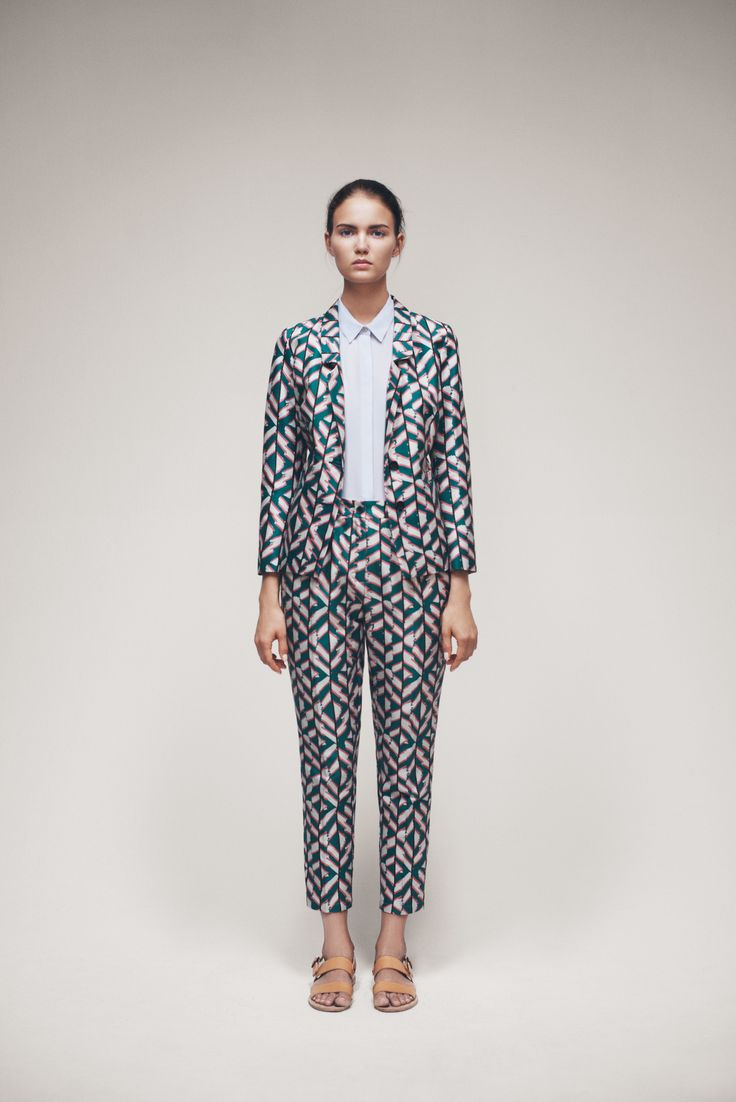 Flare Blazer, Shiri Shirt and Civetta Trousers
