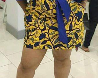African print short dress/African clothing/African wax print dress/African dress/African/African wedding dress/handmade dresses