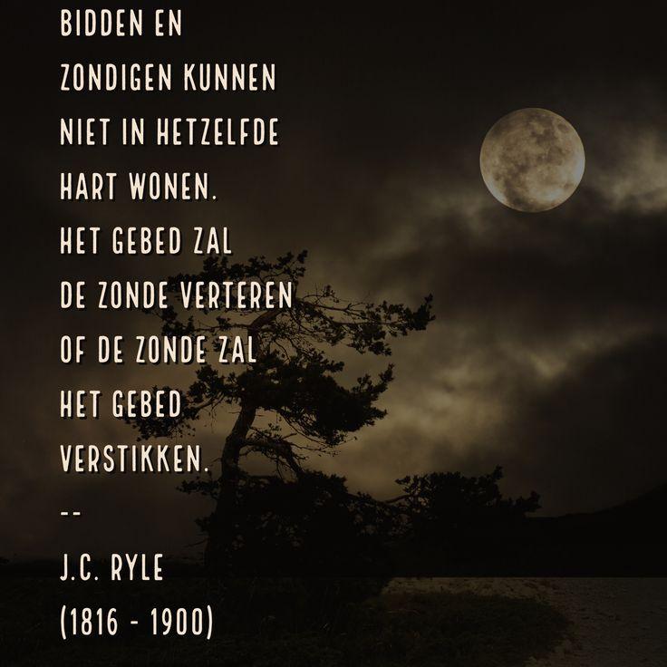 Bidden en zondigen - J.C. Ryle (1816 – 100)