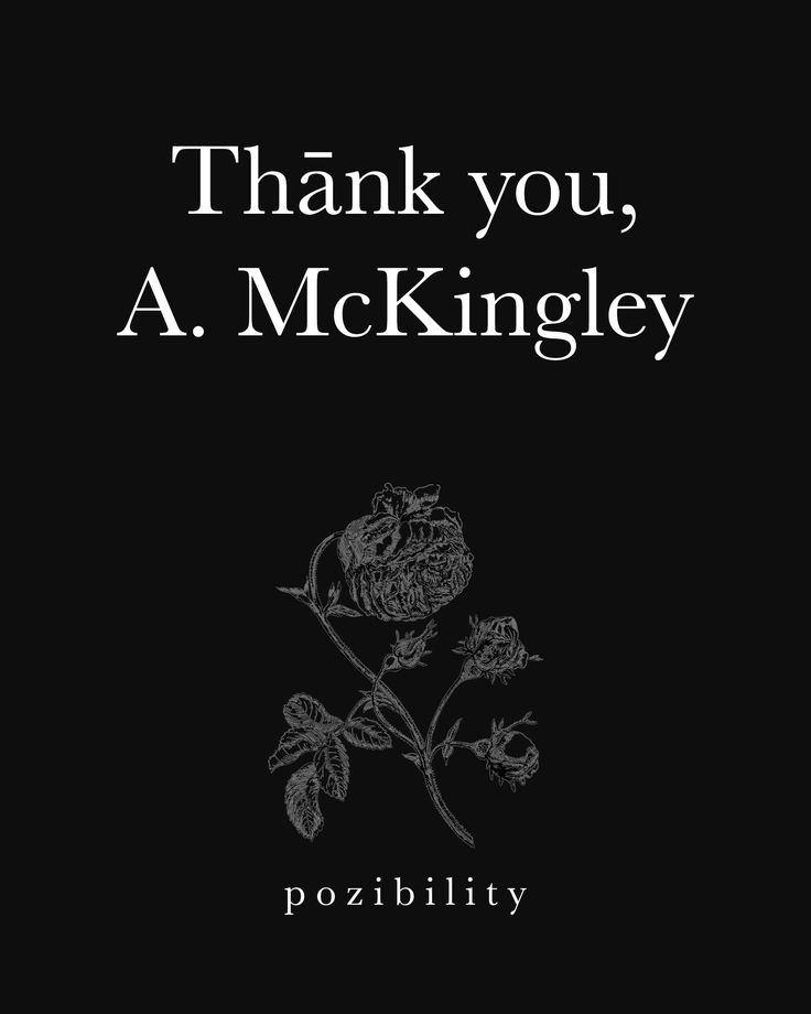 Thank you immensely, Agnes McKingley [http://www.facebook.com/agnes.mckingley], for contributing to the Pozible campaign! In the short amount of time we've known each other, it seems like we've felt it all: the wins + lossəs, the summərs + wintərs, the calms + storms. But that is how we test our strength. We endure. We are survivors, victors. And we must remind ourselves everyday. #MerciBeaucoup