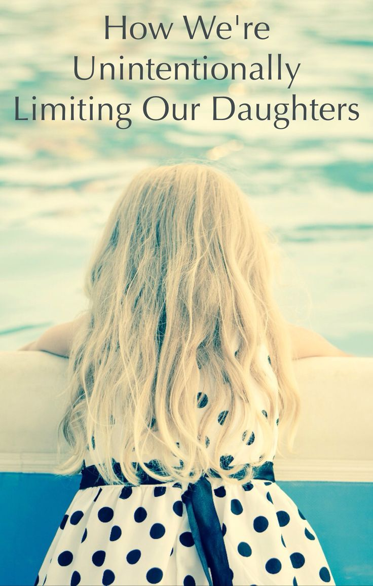 The devastating way we are limiting our daughters—without even realizing it and certainly without meaning to. A must-read positive parenting article for moms and dads of both daughters and sons.