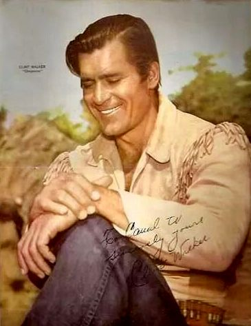 A poster of Clint Walker as Cheyenne Bodie.