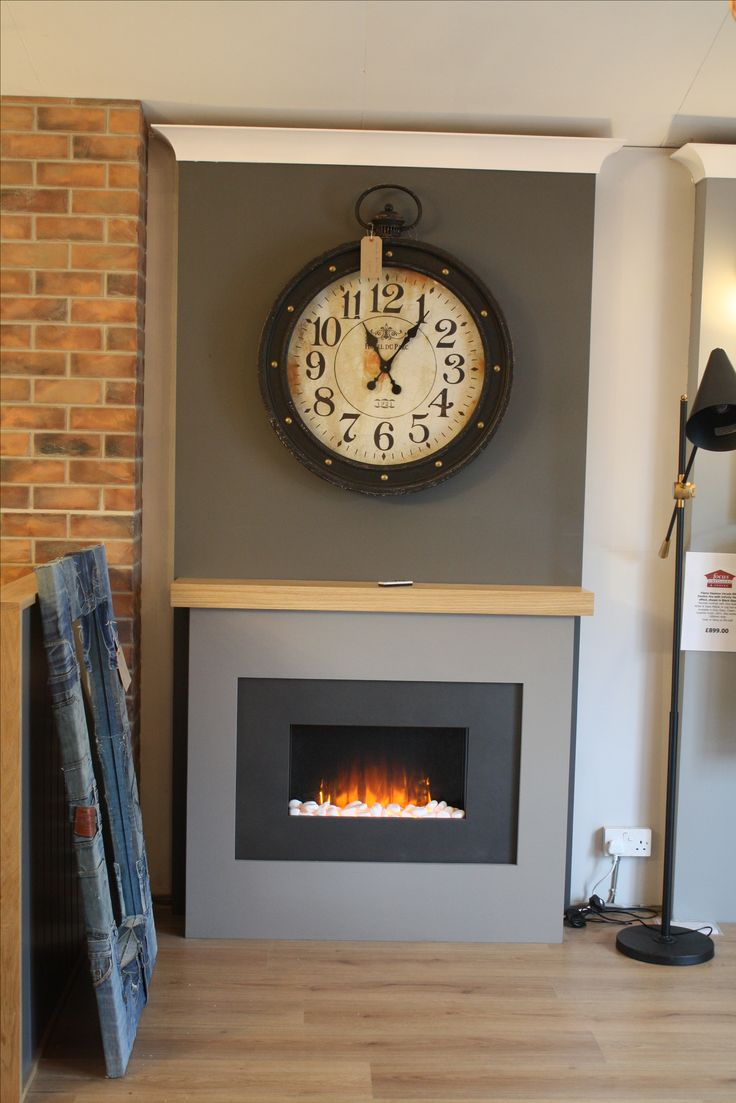 Vintage industrial clock double sided factory clock brilli 233 - Embracing The Grey Trend In Your Livingroom With A Modern Contemporary