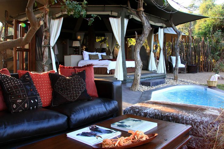 Rustic, remote and relaxing camp in deep Africa! Chongwe River Camp, Lower Zambezi, Zambia