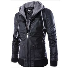New Fashion Mens Hooded Leather Jackets And Coats PU Leather Casual Black M-XXL Men's Motorcycle Leather Jacket With Hood Q0315     Tag a friend who would love this!     FREE Shipping Worldwide     #Style #Fashion #Clothing    Buy one here---> http://www.alifashionmarket.com/products/new-fashion-mens-hooded-leather-jackets-and-coats-pu-leather-casual-black-m-xxl-mens-motorcycle-leather-jacket-with-hood-q0315/