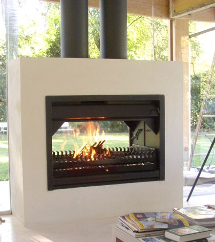 M s de 1000 ideas sobre chimenea estufa de le a en for Diseno de hogares a lena modernos