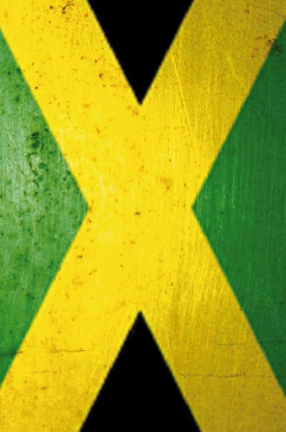 Bandera Jamaica -  iPhone 4 • 4s • 5