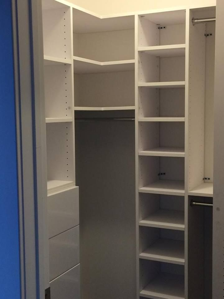Check This New Modular Closet Install Out The True Versatility Of Our System Lies In Its Ability To Meld Modules With Corner Straight