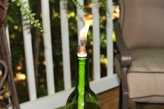 How to Make a Tiki Torch Wick (5 Steps) | eHow