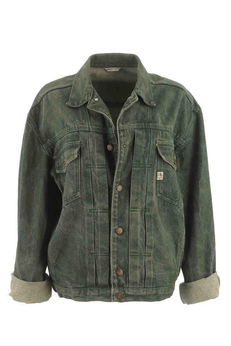 Veste en jean d lav e chez be bop and lula boutique de v tements vintage en l - Magasin vintage en ligne ...