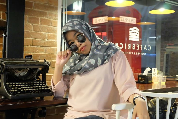 Hijab #ootd #hijab @adintawindra on #instagram