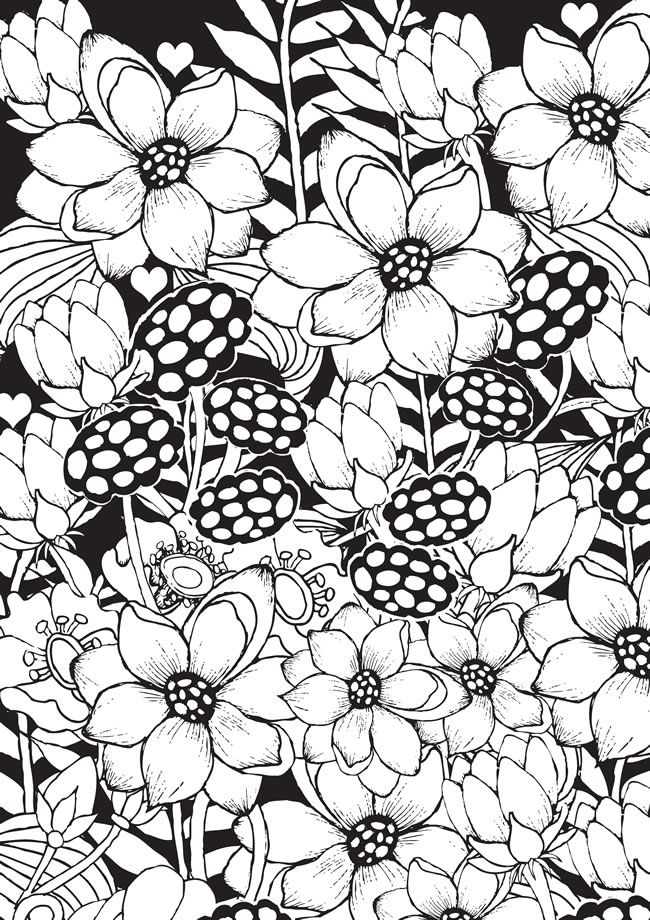 1711 best Doodles - Coloring Pages images on Pinterest | Dover ...