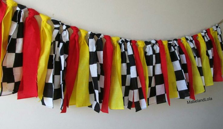 $9.99 ebay Race Cars Themed Birthday Party Banner Backdrop Highchair Decoration www.mabelandlola.com